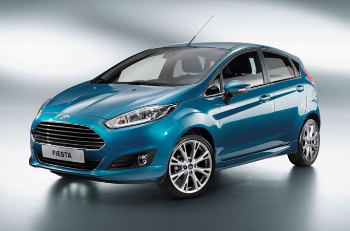 фото Ford Fiesta E-Wheel Drive