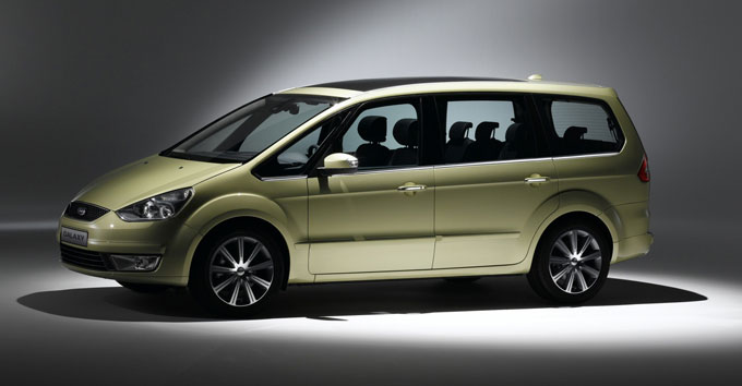 Ford Galaxy 2014 года