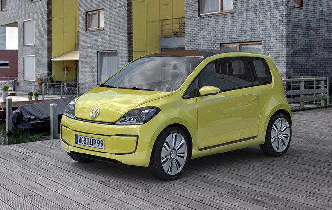 Volkswagen e-up! 2014 года